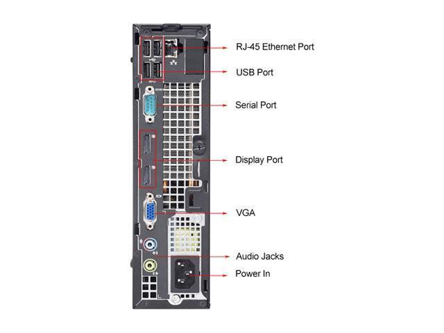Refurbished: DELL Desktop Computer OptiPlex 7010 Intel Core i3 3rd Gen 3220  (3 30 GHz) 4 GB DDR3 500 GB HDD Windows 7 Professional 64-bit - Newegg com