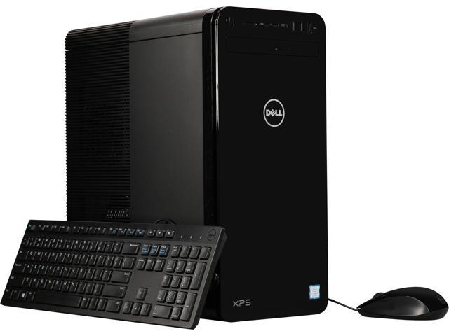 Used - Like New: DELL Desktop Computer XPS 8930 XPS8930-7194BLK Intel Core  i7 8th Gen 8700 (3 20 GHz) 8 GB DDR4 1 TB HDD Windows 10 Home 64-bit -