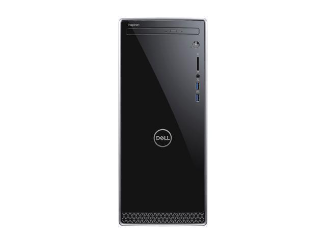 DELL Desktop Computer Inspiron 3670 i3670-3828BLK Intel Core i3 8th Gen  8100 (3 60 GHz) 8 GB DDR4 1 TB HDD Windows 10 Home 64-Bit - Newegg com