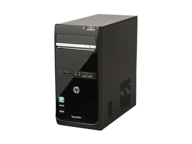 HP Desktop PC Pavilion p6823w (QN642AAR#ABA) Phenom II X2 521 (3 50 GHz) 4  GB DDR3 1 TB HDD ATI Radeon HD 4200 Windows 7 Home Premium 64-Bit -
