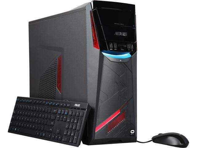 ASUS Core i5 Performance Gaming Desktop [G11CD-WB51] GeForce GTX 1070, 8 GB 2133 MHz DDR4, 1 TB HDD, Intel Core i5-6400 Quad Core 2.7 GHz processor, VR Ready
