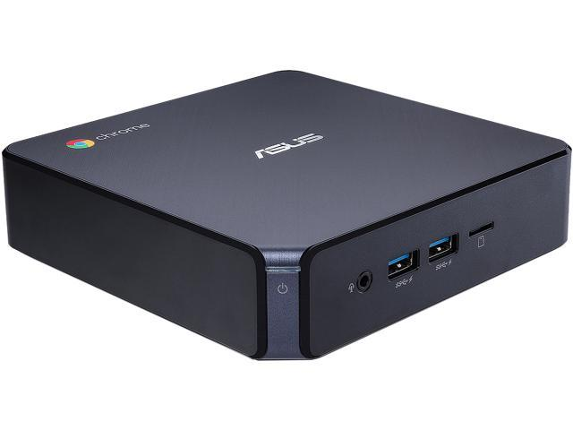 ASUS Desktop Computer CHROMEBOX 3-N017U Celeron 3865U (1.80 GHz) 4 GB DDR4 32 GB M.2 SATA SSD Intel HD Graphics 610 Google Chrome OS