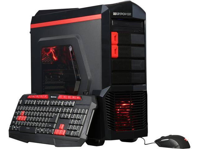 6c3aeaa1a46 iBUYPOWER Desktop Computer NE480SR Intel Core i5 6th Gen 6400 (2.70 GHz) 8  GB