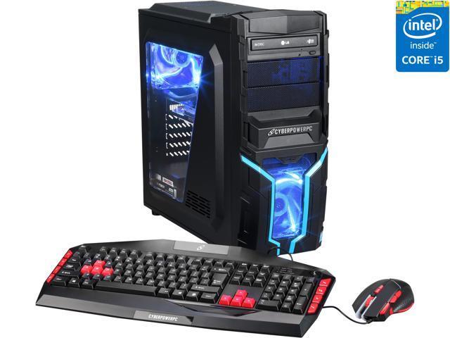 CyberpowerPC Desktop Computer Gamer Xtreme H818LQ-W10 Intel Core i5 4690K  (3 50GHz) 16GB DDR3 1TB HDD NVIDIA GeForce GTX 970 4GB Windows 10 Home
