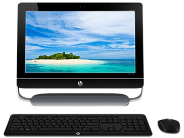 Refurbished: HP TouchSmart All-in-One Desktop PC ENVY 20-D034 H3Z72AAR#ABA  Intel Core i3 2130 (3 40 GHz) 4 GB DDR3 500GB HDD + 16GB SSD HDD 20