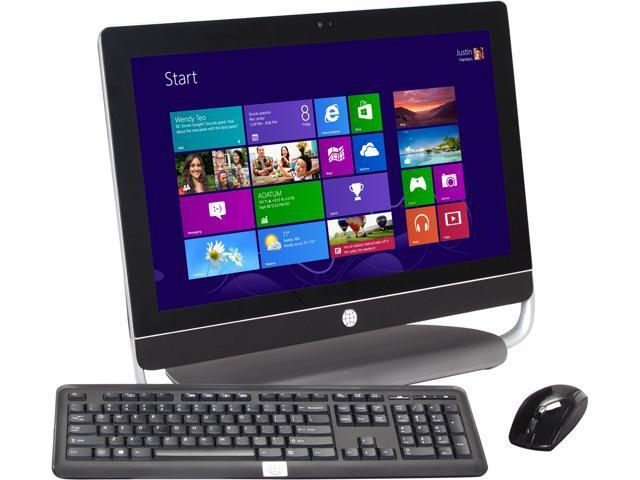 Refurbished: HP Debranded All-in-One PC TSA-430D-32-W8EN Intel Core i3 3220  (3 30 GHz) 4 GB DDR3 750 GB HDD 23