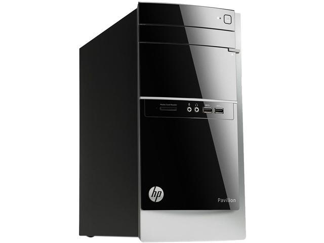 HP Pavilion 500-314 Desktop PC Tower with Quad Core AMD A8 7600 3.1Ghz (3.8Ghz Turbo), 8GB DDR3 RAM, 2TB HDD, SuperMulti DVDRW, Radeon R7 Series, 7.1 Channel Audio with S/PDIF Out, Windows 8.1 64-Bit