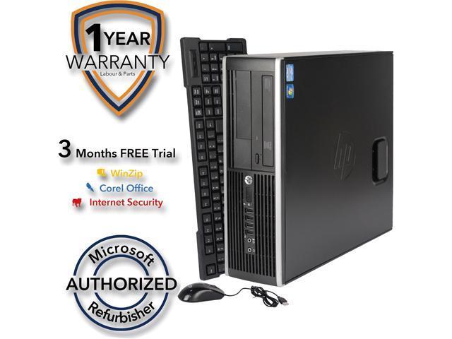 Refurbished: HP Desktop Computer 6200 Pro Intel Core i5 2nd Gen 2400 (3 10  GHz) 8 GB DDR3 1 TB HDD Windows 7 Professional 64-bit - Newegg com
