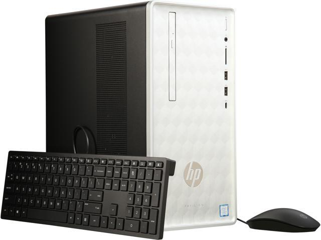 Refurbished: HP Gaming Desktop Pavilion 590-p0057c Intel Core i5 8th Gen  8400 (2 80 GHz) 16 GB DDR4 1 TB HDD AMD Radeon RX 550 Windows 10 Home  64-bit