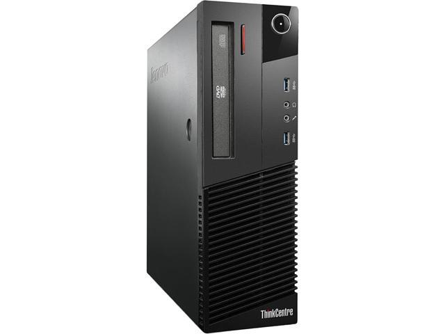 Refurbished: Lenovo Grade A ThinkCentre M93P SFF, Intel Core i5-4570 3 20  GHz up to 3 60 GHz, 8 GB DDR3, 240 GB SSD + 500 GB HDD, DVD-ROM, USB WIFI