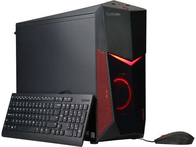 Lenovo Gaming Desktop Legion Y520T-25ICZ (90JB003HUS) Intel Core i5 8th Gen  8400 (2 80 GHz) 8 GB DDR4 1 TB HDD NVIDIA GeForce GTX 1050 Ti Windows 10