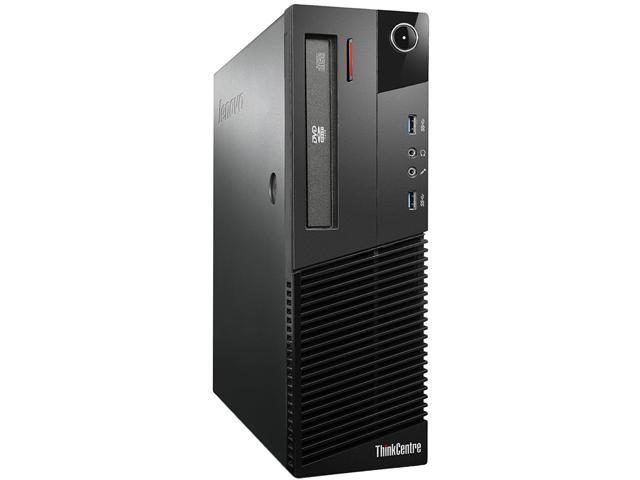 desktop PC Intel Core I5-4/ª Gen, 8GB de RAM, Disco 500GB HDD, Windows 10 Pro Lenovo ThinkCentre M93P SFF