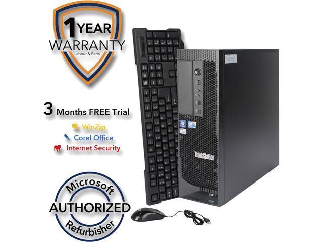 Refurbished: Lenovo Desktop Computer C20 Xeon E5620 (2 40 GHz) 8 GB DDR2 1  TB HDD Windows 7 Professional 64-bit - Newegg com