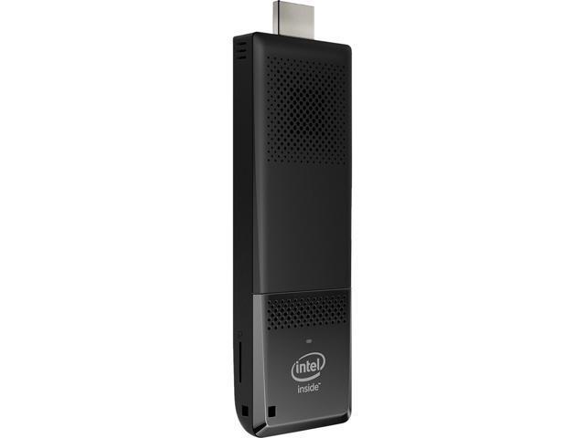 Intel Compute Stick BOXSTK1AW32SC Ultra-slim PC Intel Atom X5-Z8300 (1 44  GHz) 2 GB DDR3L 32 GB eMMC Intel HD Graphics Windows 10 Home 32-Bit -