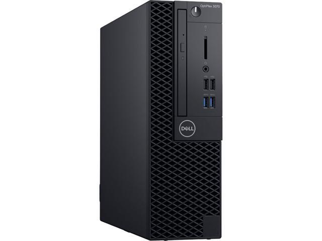 DELL OptiPlex 3070 SFF Desktop - Intel Core i5-9500, 8 GB DDR4, 500 GB HDD, Intel UHD Graphics 630, Windows 10 Pro (88NV2)