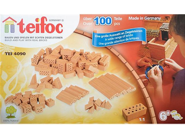 Pieces  **NEW** Teifoc Assorted Brick Construction Set 100