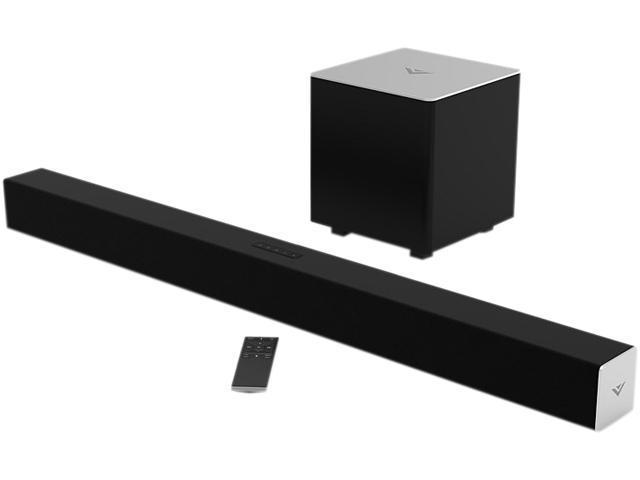 Vizio Sb3821 C6 38 Inch 2 1 Sound Bar With Wireless Subwoofer Bluetooth