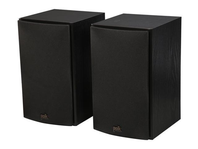 Polk Audio T15 Home Theater and Music Bookshelf Speaker (Black/Pair) -  Newegg com