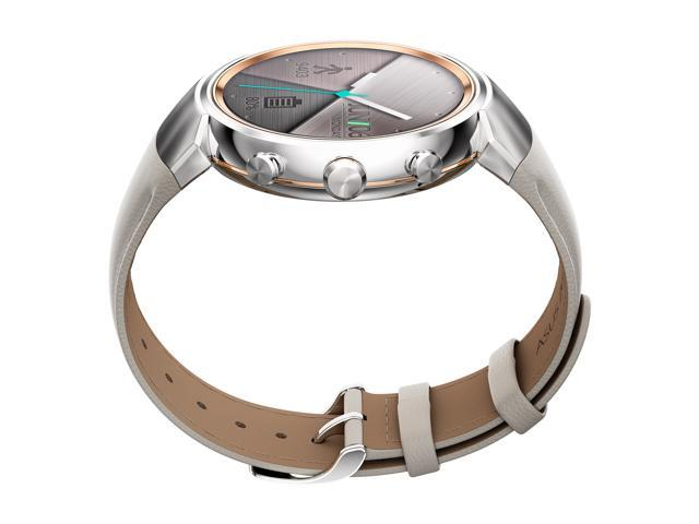 229c27a31 ASUS ZenWatch 3 Android Wear Smartwatch with Quick Charge & Silver Case, Beige  Leather Strap (WI503Q-SL-BG) US Warranty - Newegg.com