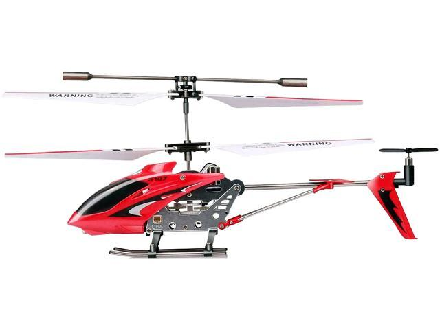 Syma 3 Channel Rc Radio Remote Control Helicopter With Gyro Red Newegg Com