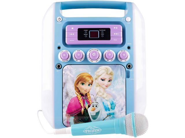 Sakar KO2-07027-WINT Disney Frozen Winter Magic Karaoke ... 3e417f153906