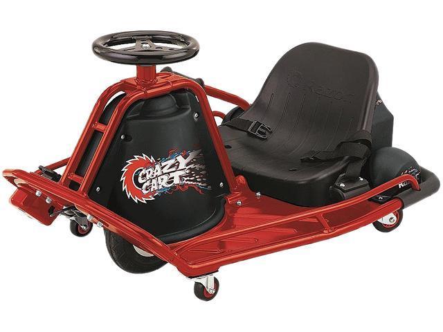 Razor 24 Volt Electric Powered Drifting Crazy Cart