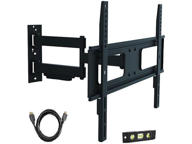Proht By Inland 05412 37 70 Full Motion Tv Wall Mount Bracket Designed To Fit Flat Panel Plasma And Led Lcd Up Vesa 600x400mm Max Load 110 Lbs