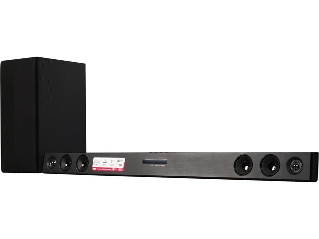8afb4f67692 LG LAS465B 2.1ch 300W Sound Bar with Wireless Subwoofer and Bluetooth  Connectivity