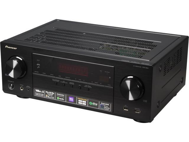 Pioneer VSX-824-K 5 2 Channel 4K Ready AV Receiver - Newegg com
