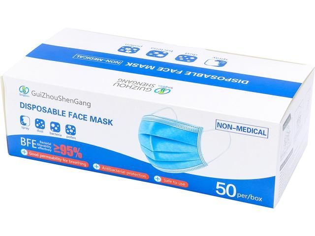 50-Pack GS Disposable Face Mask