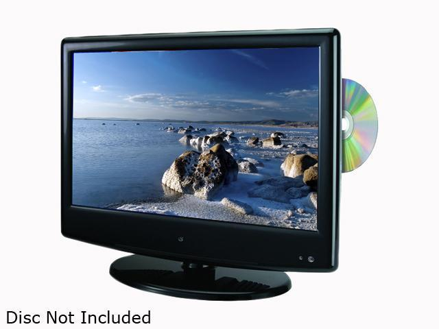Gpx Tde1380b 13 Black 720p Lcd Hdtv With Built In Dvd Player