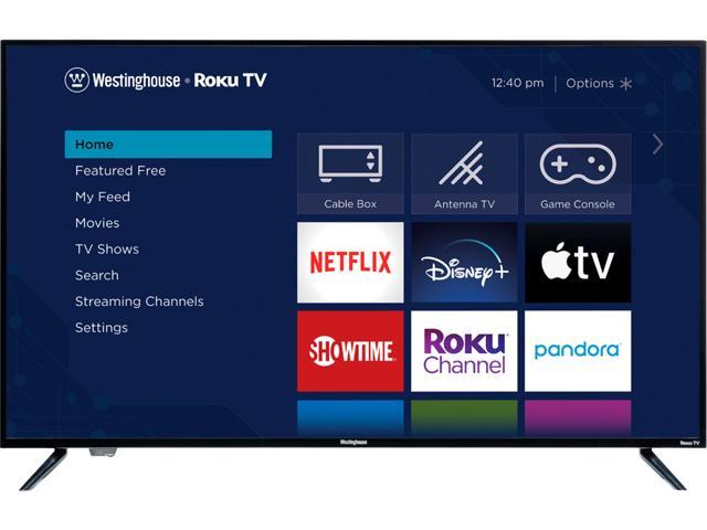 """Westinghouse UX Series 50"""" 4K 60Hz Ultra HD Smart Roku TV with HDR WR50UX4019"""
