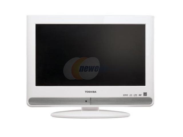 TOSHIBA 15LV506 White Combo TV - Newegg com