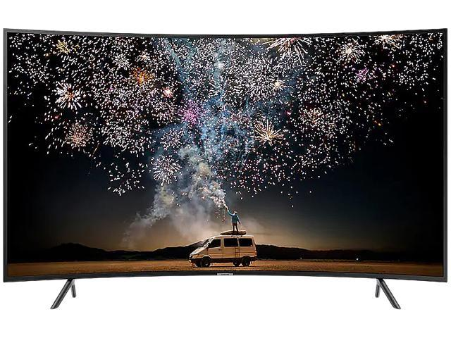 Samsung RU7300 Curved 7 Series 4K Smart UHD LED TV UN55RU7300FXZA (2019) -  Newegg com
