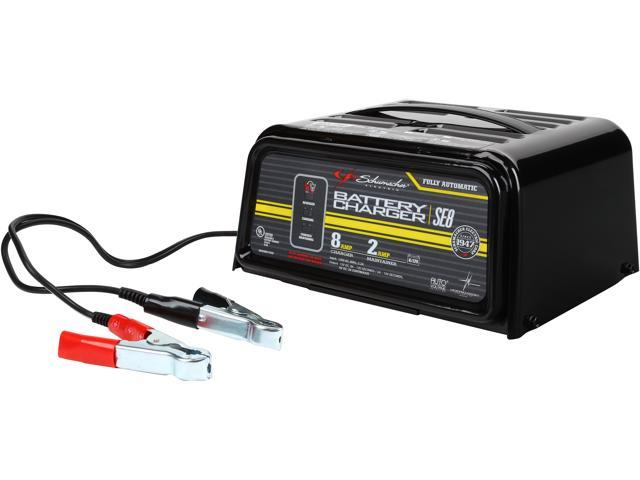Schumacher Battery Charger Manual >> Schumacher Se 82 6 Dual Rate 2 6 Amp Manual Battery Charger Newegg Com