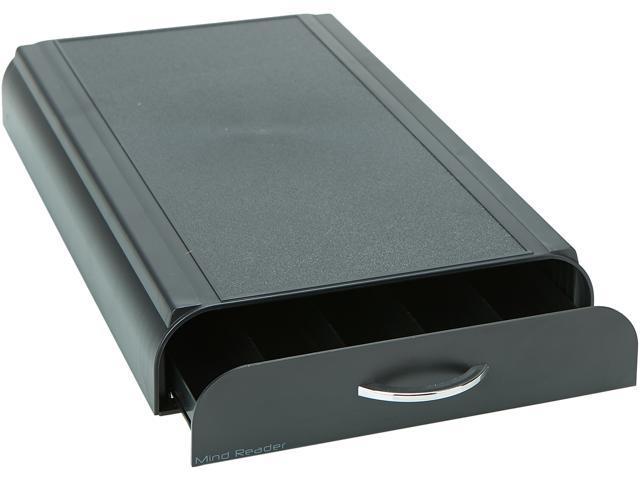 Mind Reader Anchor Coffee Pod Storage Drawer Black Color 50 Capacity For Nespresso