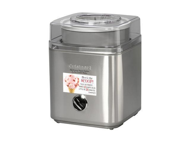 Cuisinart ICE 30BC Pure Indulgence 2 Quart Automatic Frozen Yogurt Sorbet And
