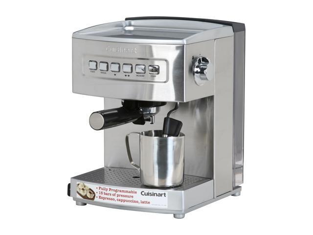 Cuisinart Em 200 Programmable Espresso Maker Stainless Steel