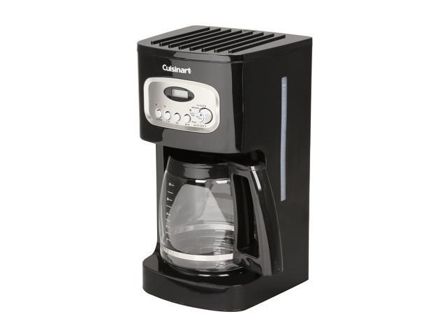Cuisinart Dcc 1100bk Black 12 Cup Programmable Coffeemaker Newegg Com