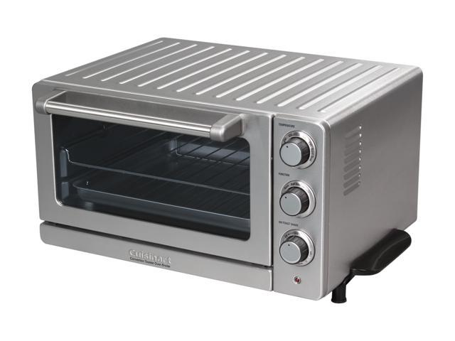 5342bf371f1 Cuisinart TOB-60N Stainless Steel Toaster Oven Broiler with Convection