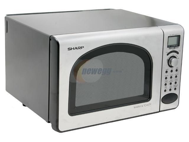 Sharp 0 5 Cu Ft Microwave Oven R 55ts