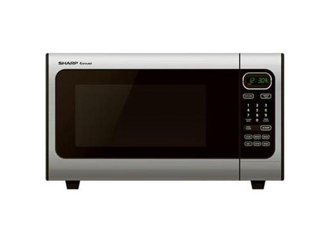 Sharp 1100 Watts 1 4 Cu Ft Microwave Oven R 408ls Stainless Steel