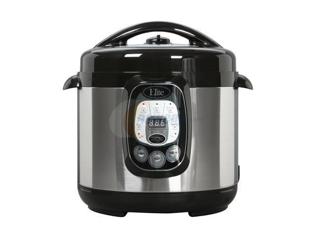 Maxi-Matic Elite EPC-807 Elite Platinum 8-Quart 1200 Watts Digital Pressure  Cooker with Non-Stick Pot - Newegg com