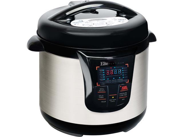 Elite EPC 808SS 8 Quart Electric Pressure Cooker Stainless Steel
