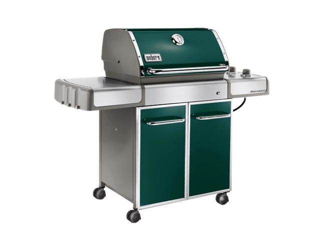 weber genesis ep 310 premium gas grill lp ss grates bars 3747301 green. Black Bedroom Furniture Sets. Home Design Ideas