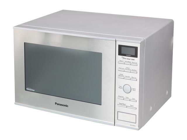 Panasonic Family Size 1 2 Cu Ft Built In Countertop Microwave Oven With