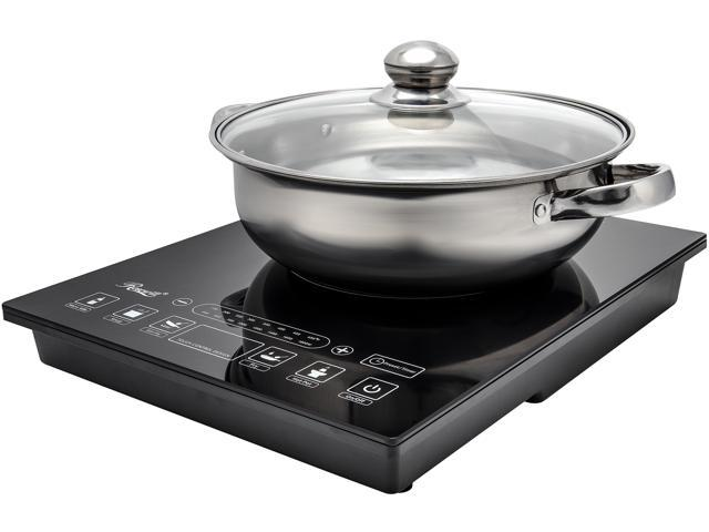 Rosewill Induction Cooker 1800 Watt 5 Pre Programmed Cooktop Electric Burner