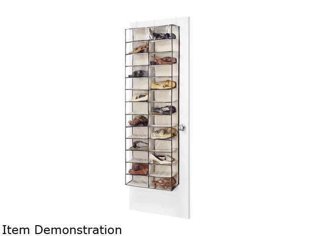 Whitmor 6470 4457 Fashion Canvas Over The Door Shoe Shelves