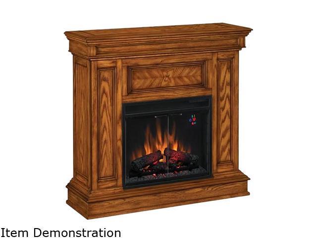 Classicflame Phoenix 42 Wide Corner Electric Fireplace Oak