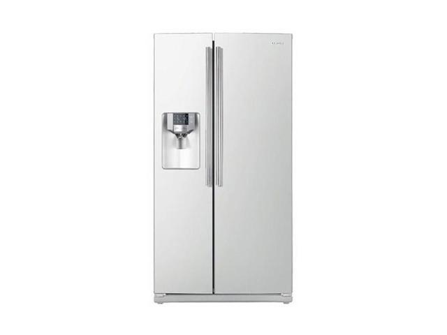Samsung Rs267tdwp Side By Side Refrigerator White Refrigerator